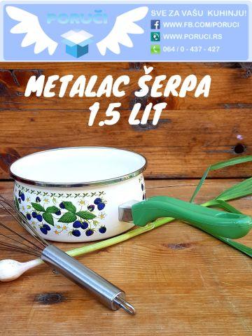 Metalac kaserola 1.5 lit